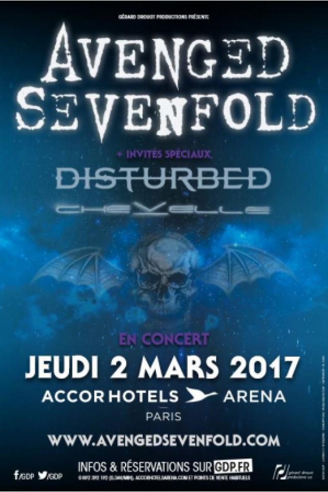 AVENGED SEVENFOLD @ ACCORHOTELS ARENA - PARIS 12