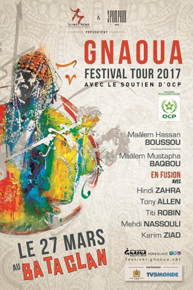 Billets Gnaoua Festival Tour 2017  - LE BATACLAN