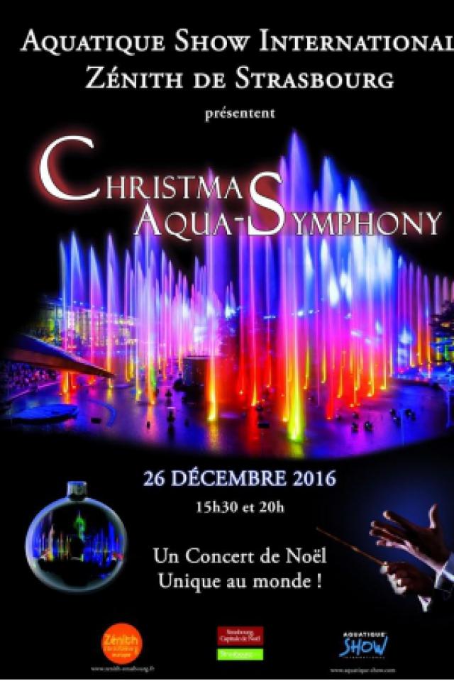 CHRISTMAS AQUA-SYMPHONY @ Zenith de Strasbourg - Europe - Eckbolsheim-Strasbourg