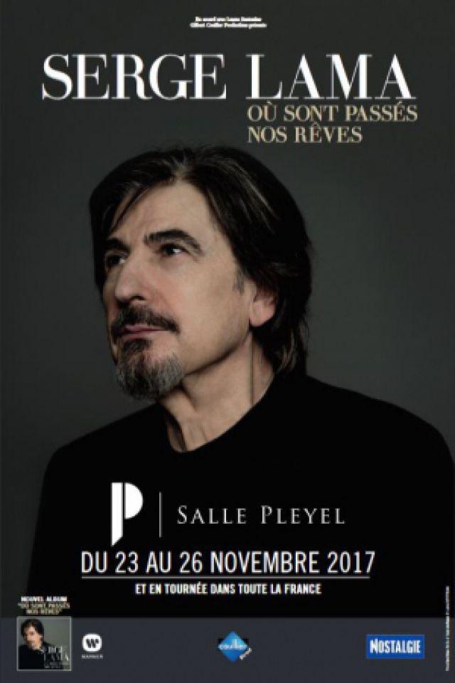 SERGE LAMA @ Le Vinci - Auditorium François 1er - Tours