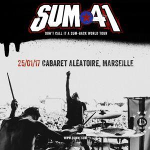 SUM 41 @ Dock des Suds - MARSEILLE