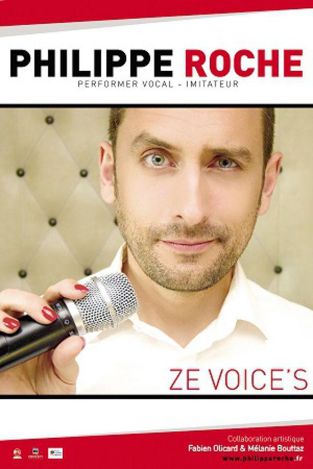 Philippe Roche dans Ze Voices @ Théâtre Trévise - Paris