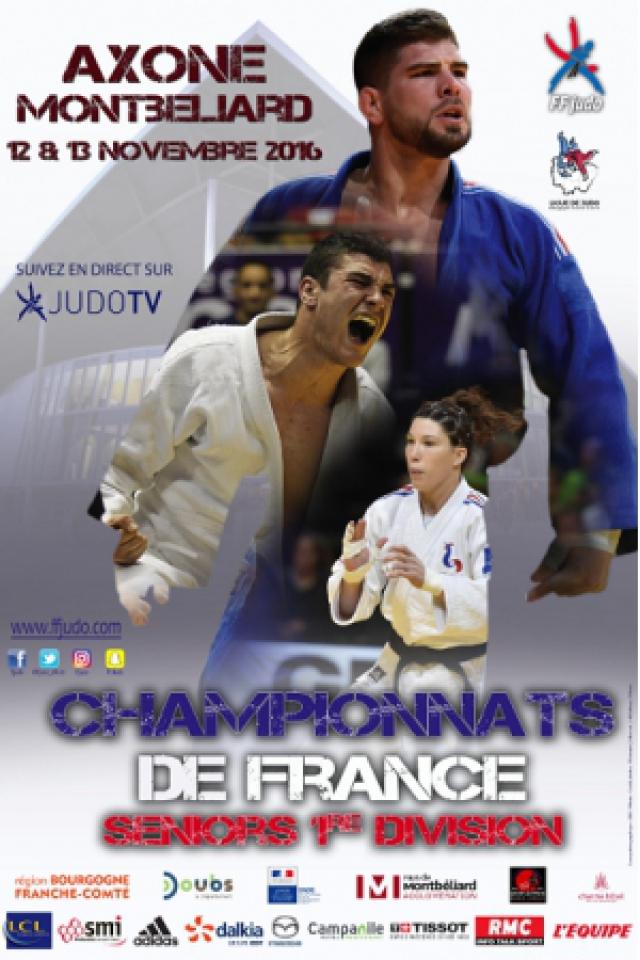 CHAMPIONNAT DE France DE JUDO - 1ERE DIVISION SENIORS @ L'Axone - Montbeliard