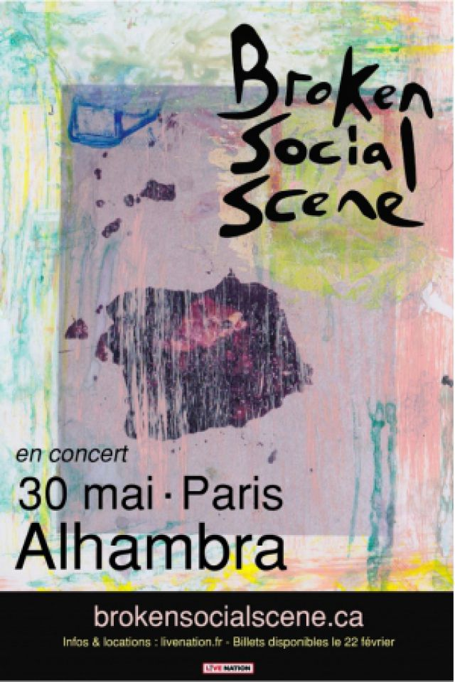 BROKEN SOCIAL SCENE @ Alhambra - Paris
