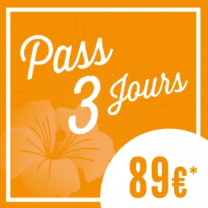 Festival SOLIDAYS 2016 - PASS 3 JOURS A 89�