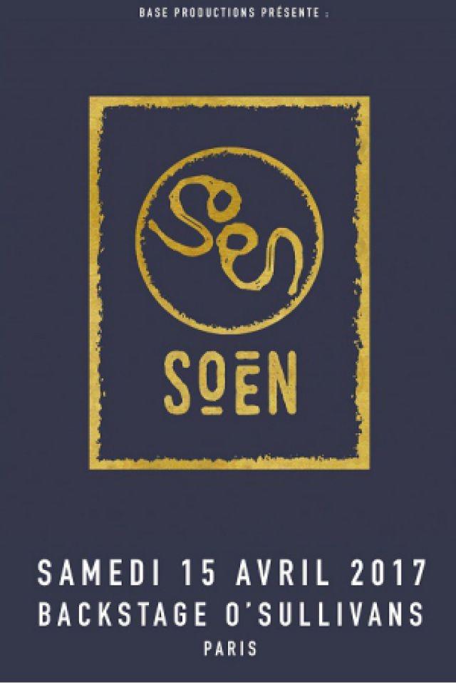 Concert SOEN + MADDER MORTEM à PARIS @ Le Backstage - Billets & Places