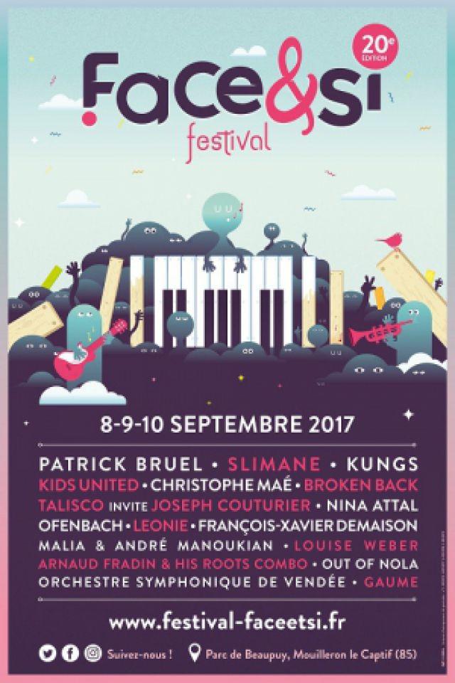 Festival Face & Si 2017 / Patrick BRUEL+SLIMANE+OFENBACH+LEONIE à MOUILLERON LE CAPTIF @ Parc de Beaupuy - Billets & Places
