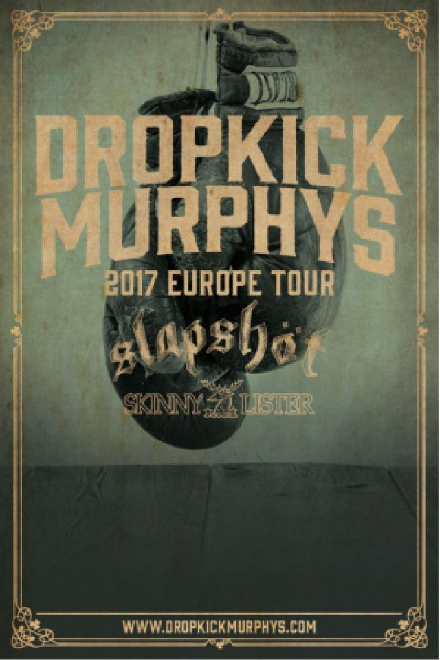 Billets DROPKICK MURPHYS - Zénith Paris La Villette