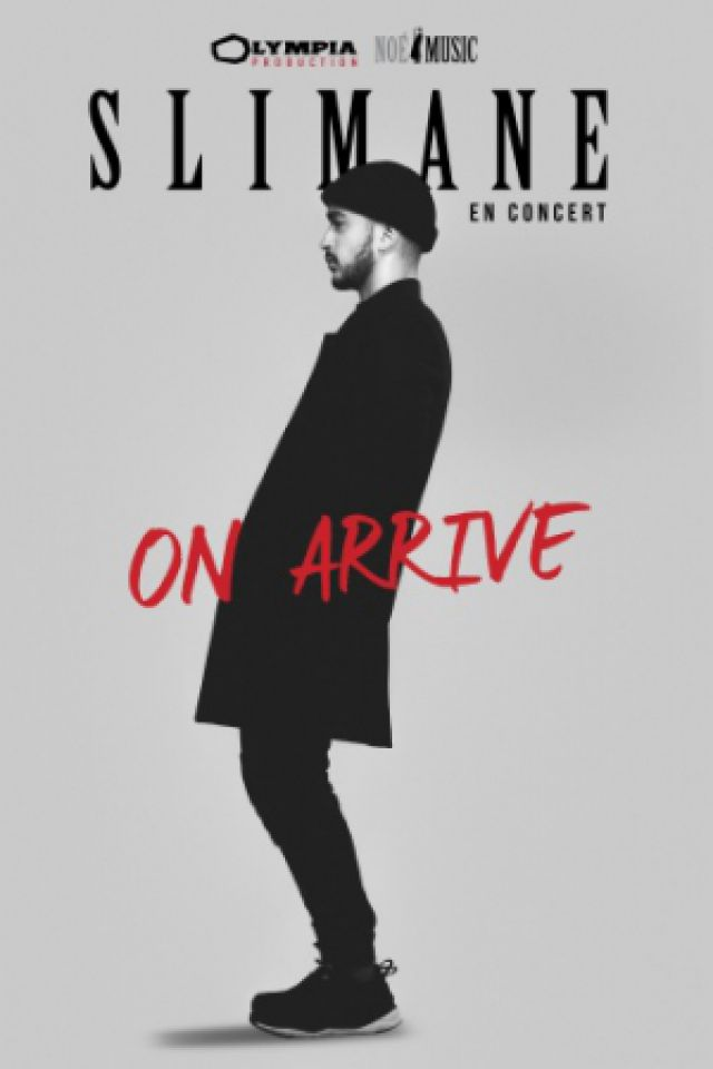 """Concert Slimane """"On arrive"""" à Strasbourg @ PMC - Salle Erasme - Billets & Places"""