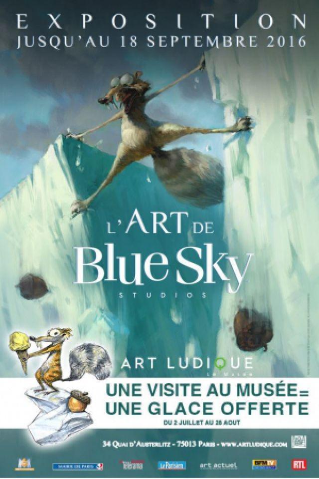 L'ART DE BLUE SKY @ Art Ludique le Musée - PARIS