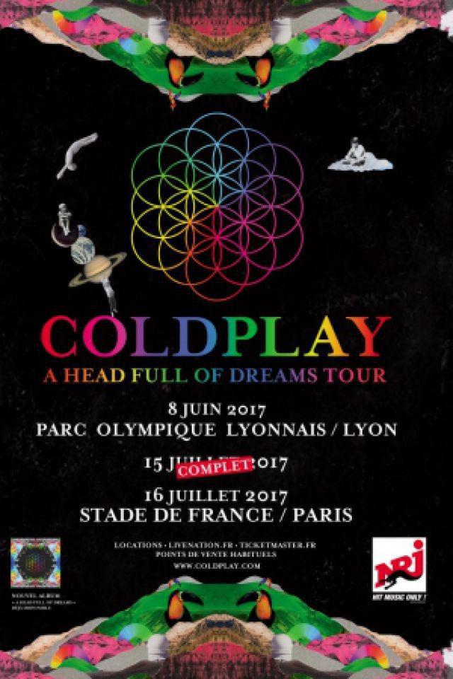 COLDPLAY @ Stade de France - SAINT DENIS