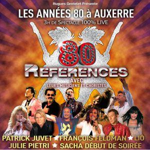 Concert LES ANNÉES 80 À AUXERRE