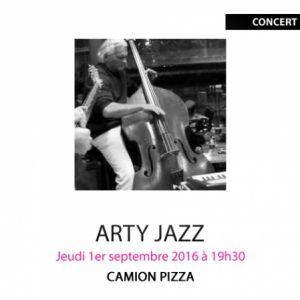 ARTY JAZZ - CAMION PIZZA @ Gallifet Art Center - AIX EN PROVENCE