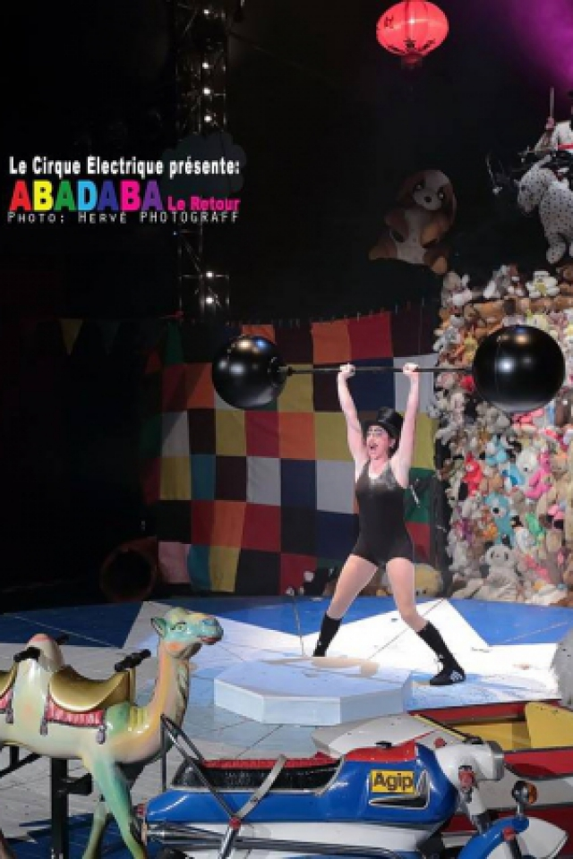 ABADABA @ Cirque Electrique - PARIS