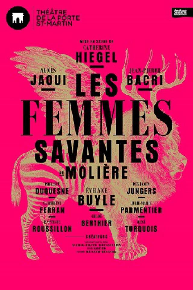 LES FEMMES SAVANTES @ Théatre de la Porte Saint-Martin - Paris