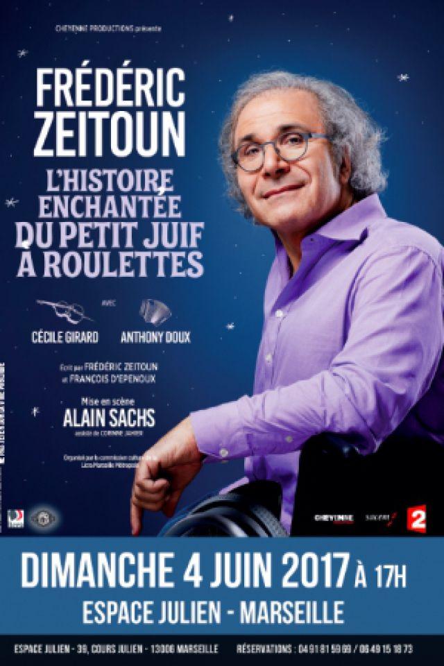 L'histoire enchantée du petit juif à roulettes @ Espace Julien - Marseille