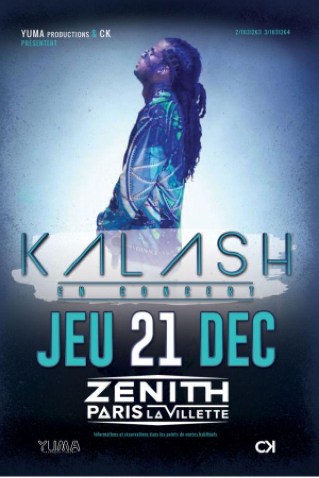 Concert KALASH à Paris @ Zénith Paris La Villette - Billets & Places