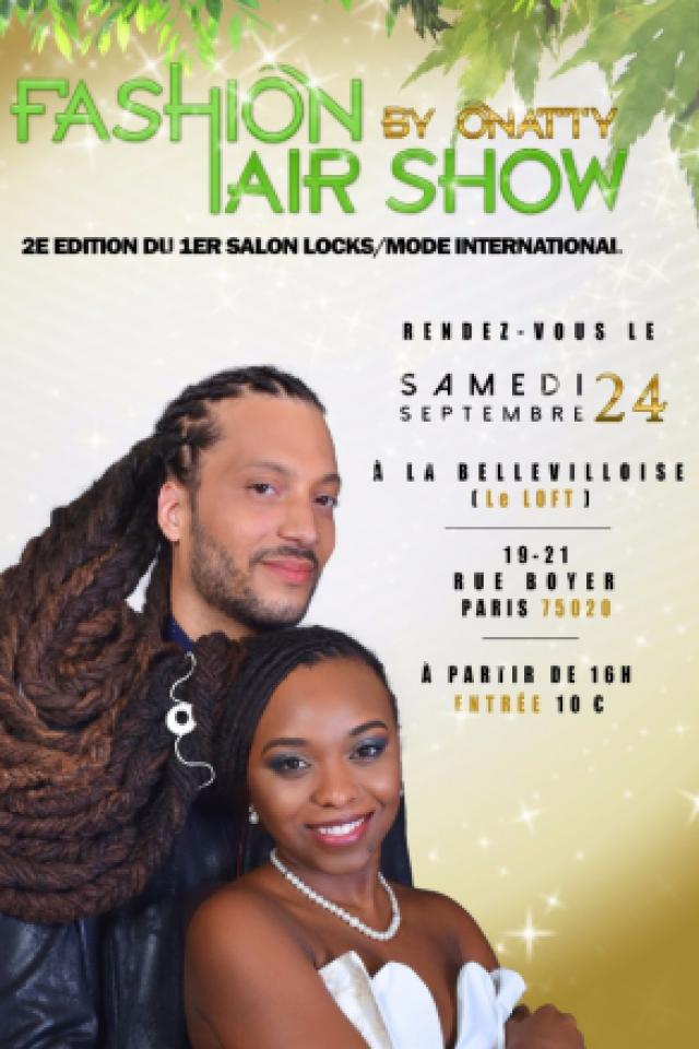 Fashion Hair Show By O'natty  @ La Bellevilloise - Paris