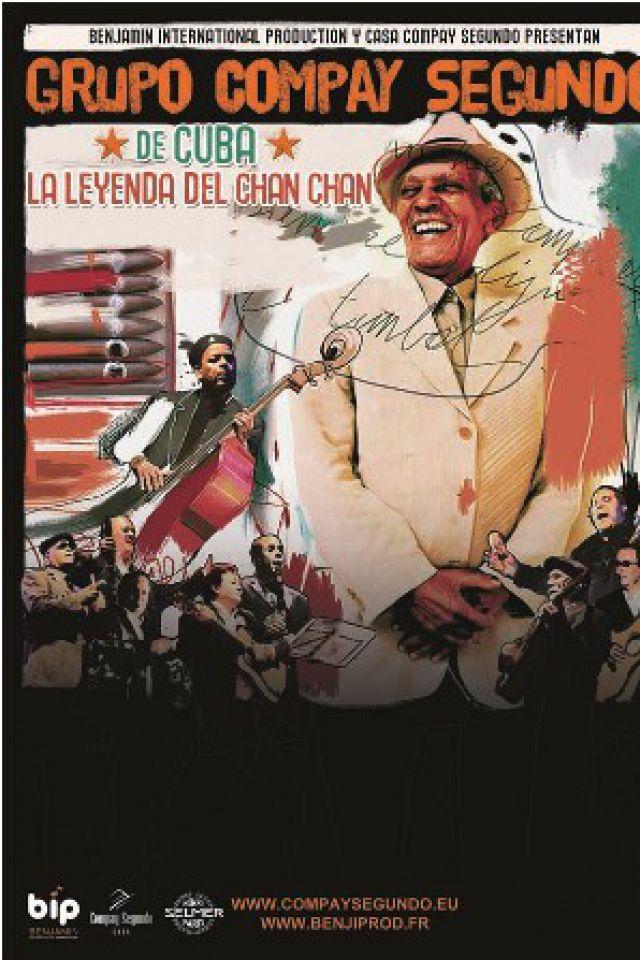 """GRUPO COMPAY SEGUNDO """"LA LEGENDE DE CHAN CHAN"""" @ NOUVELLE SALLE DES FÊTES DE BALMA - BALMA"""
