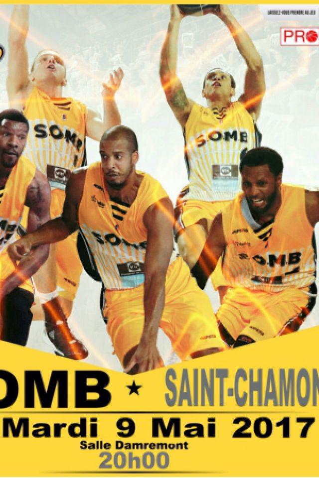 SOMB-ST CHAMOND PRO B @ Salle Damrémont - BOULOGNE SUR MER