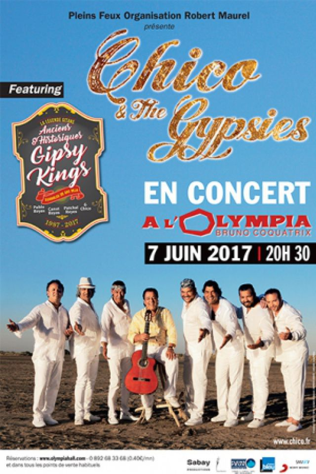 CHICO AND THE GYPSIES  @ L'Olympia - Paris