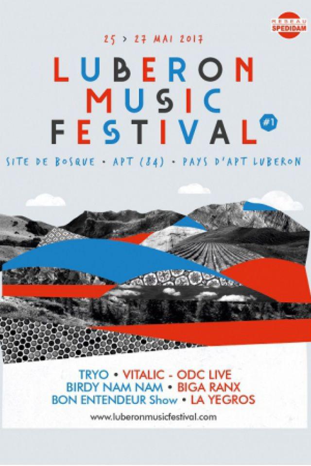 LUBERON MUSIC FESTIVAL - PASS 3 JOURS @ Site de Bosque - APT