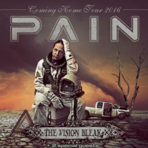 Concert PAIN + THE VISION BLEAK + GUESTS