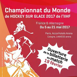 Match IIHF WM Finlande vs France