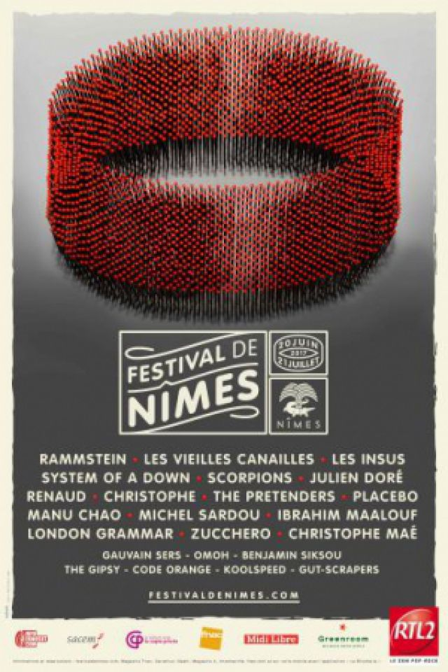 MANU CHAO AND LA VENTURA TOUR 2017 @ Arènes de Nîmes - Nîmes