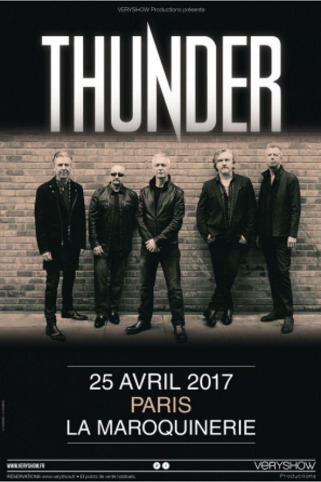THUNDER @ La Maroquinerie - PARIS