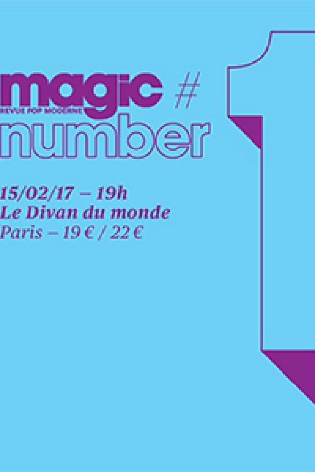 Concert Magic Number #1 - Mark Eitzel, Stranded Horse, Canari... à Paris @ Divan du Monde - Billets & Places