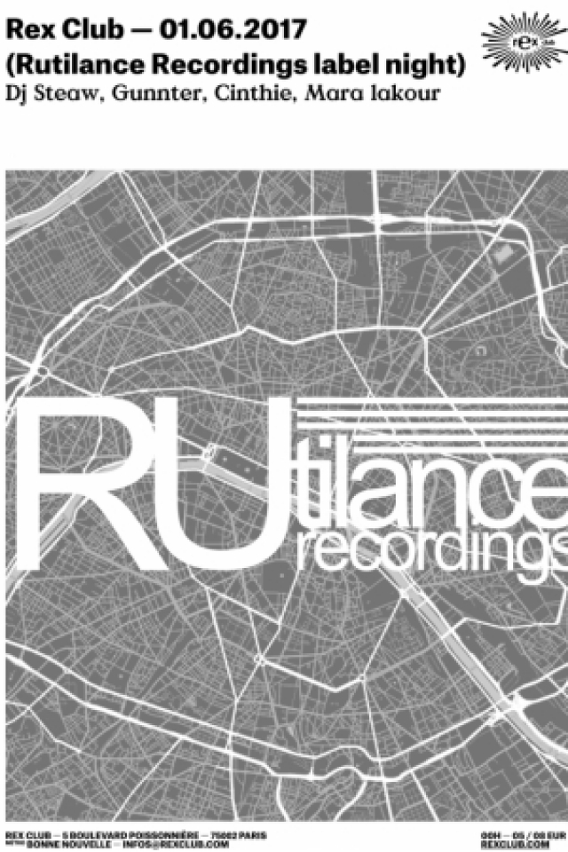 RUTILANCE RECORDS @ Le Rex Club - PARIS