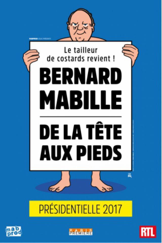 Bernard MABILLE, De la Tête aux pieds, Spéciale Présidentielles  @ Espace Chaudeau - Ludres