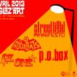 Concert STREETLIGHT MANIFESTO + THE AQUABATS + PO BOX + OZ ONE à PARIS 19 @ Glazart - Billets & Places