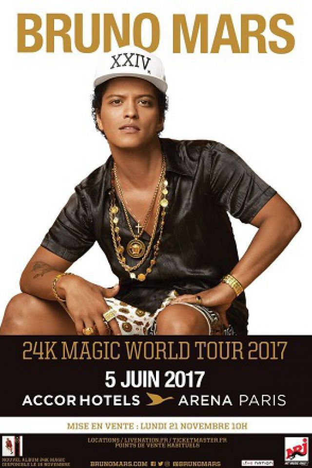 BRUNO MARS @ ACCORHOTELS ARENA - PARIS 12