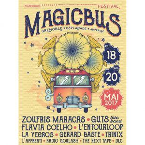 Festival MAGIC BUS 2017 - Pass 1J / Samedi