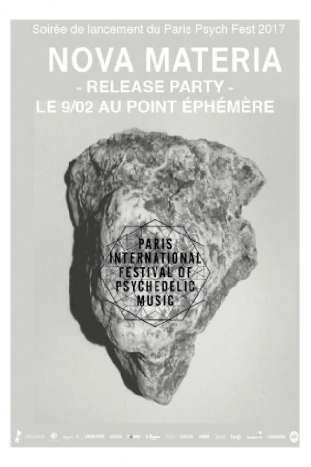PARIS PSYCH FEST LAUNCH PARTY W/ NOVA METERIA + ALICE LEWIS @ Point Ephémère - Paris