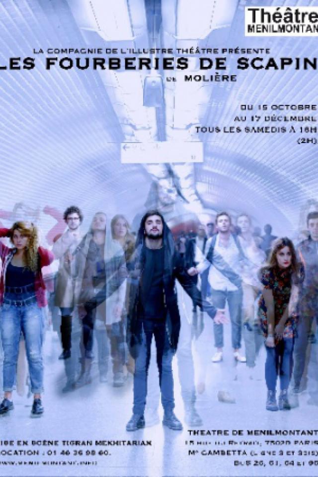 Les fourberies de scapin @ Théâtre de Ménilmontant - salle XXL - Paris
