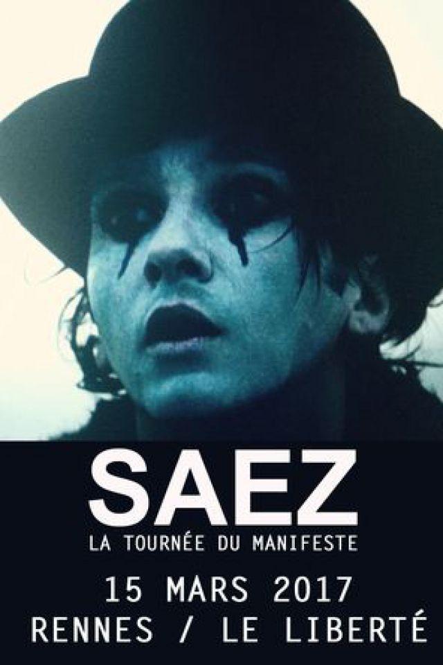 Concert SAEZ à RENNES @ Le Liberté - Billets & Places