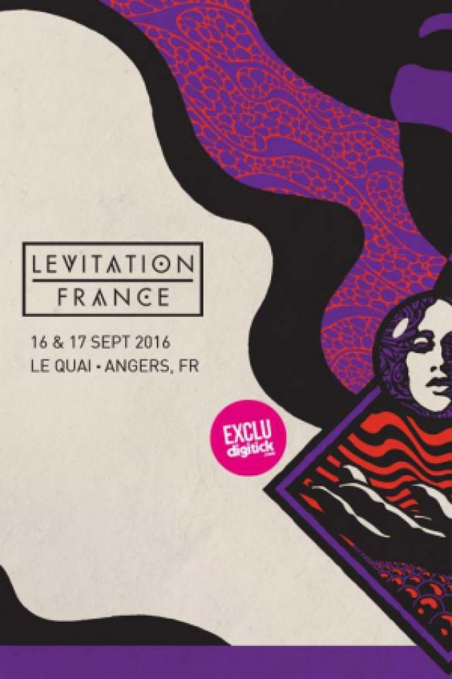 FESTIVAL LEVITATION France - Pass 2 Jours @ ANGERS - LE QUAI - ANGERS