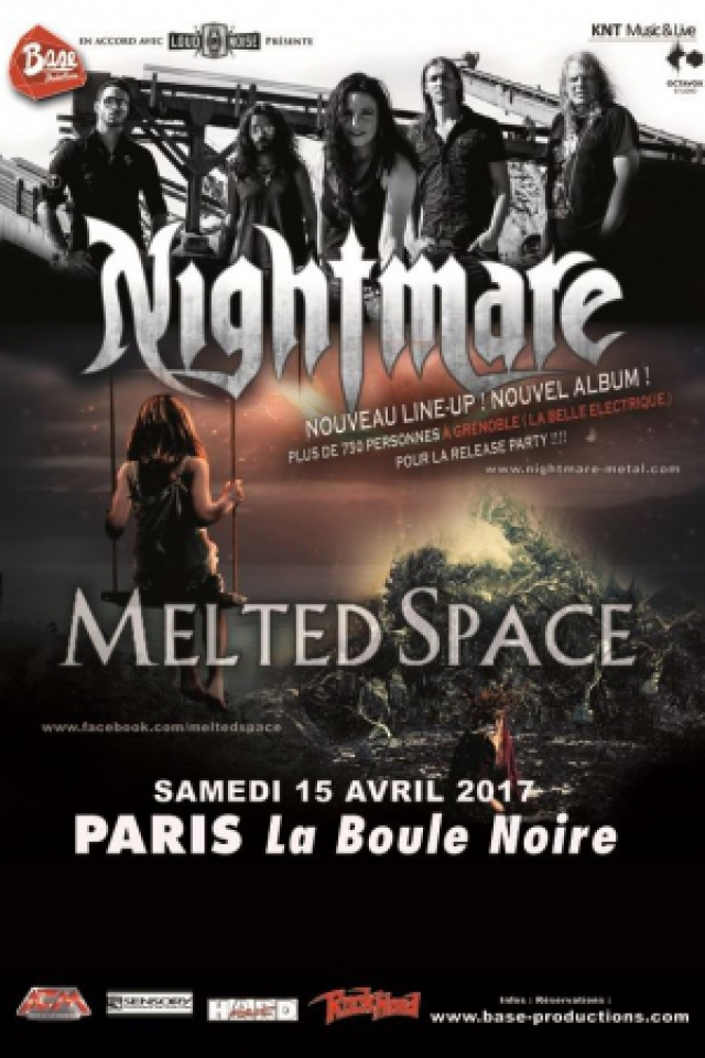 Concert NIGHTMARE + MELTED SPACE à PARIS @ La Boule Noire - Billets & Places