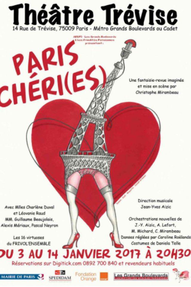 Paris Chéri(es) @ Théâtre Trévise - Paris