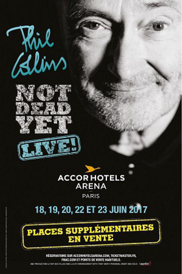 PHIL COLLINS @ ACCORHOTELS ARENA - PARIS 12