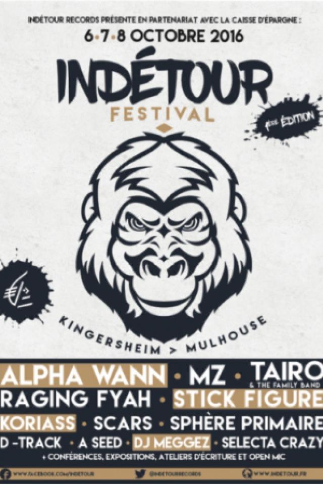Festival Indétour Jour 2 -TAIRO & The Family Band, RAGING FYAH... @ ESPACE TIVAL - KINGERSHEIM