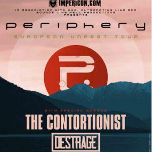 PERIPHERY + THE CONTORTIONIST + DESTRAGE @ Centre Culturel Oecuménique (CCO) - Villeurbanne