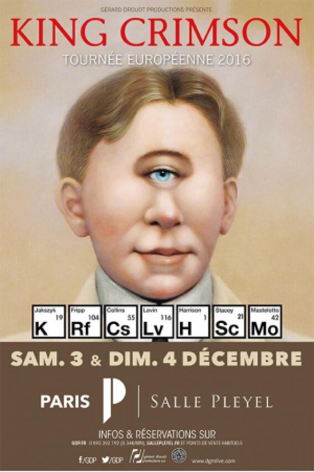 KING CRIMSON @ Salle Pleyel - Paris