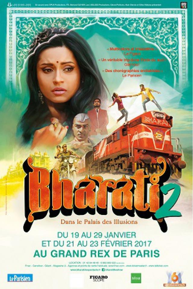 Bharati 2 - Dans le Palais des illusions @ Le Grand Rex - Paris