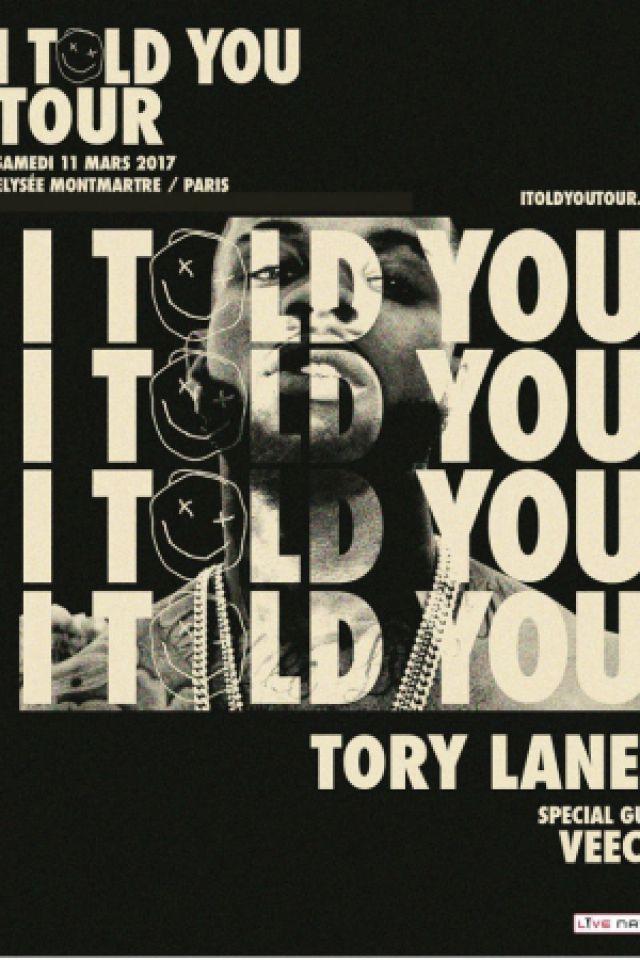 TORY LANEZ @ ELYSEE MONTMARTRE - PARIS