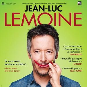 Spectacle Jean-Luc Lemoine - � Si vous avez manqu� le d�but �