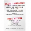 Club Sandwich Miss Kittin @ Cinema Paradiso SuperClub